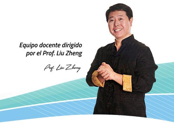 Equipo docente dirigido por el Prof. Liu Zheng