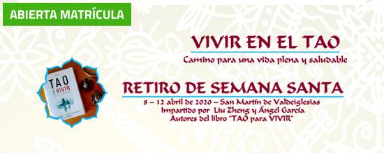 """Retiro Semana Santa 2020 """"Vivir en el TAO"""""""