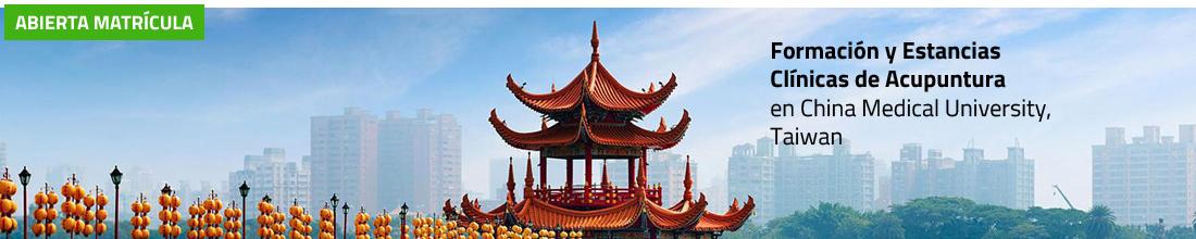 Viaje de Formación y Estancia Clínica de Acupuntura en Universidad de Medicina China en Taiwán 2020