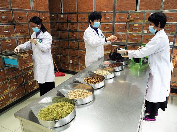 """Fórmula de Fitoterapia """"Qing Fei Pai Du Tang"""" (Decocción para Enfriar el Pulmón y Eliminar Toxicidad) para recuperar a los pacientes infectados del COVID-19"""